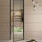стеклянная дверь / для помещения / створчатая / из алюминия