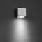 современный настенный светильник / для наружного применения / из анодированного алюминия / из поликарбоната
