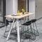 современный высокий стол для еды стоя / из дерева / прямоугольный / для профессионального использованияAHREND AERO by Marck HaansAhrend