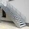 прямая лестница / из металла / с металлическими ступеньками / с подступенкомJOMY