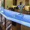 барная стойка для профессионального использования / современная / из стекла / световая