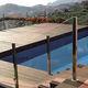 автоматическое покрытие для бассейна / для обеспечения безопасности / с держателями / погружное