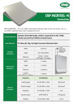 INOXTEEL-N Technical Data