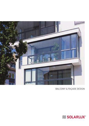 balcony and façade design