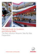 Planning guide for escalators & moving walks