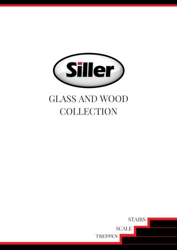 Siller Stairs glass and wood brochure