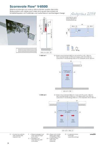 Scorrevole Flow® V-8500
