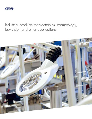 Industrial Products Brochure