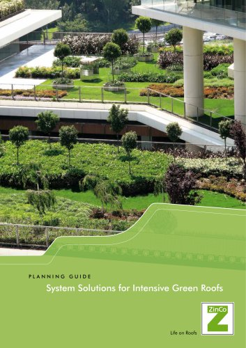 System Solutions for Intensive Green Roofs