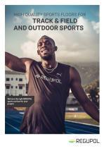 Regupol® Athletics Tracks