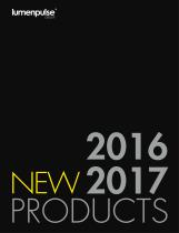 NEW PRODUCTS 2016 - 2017